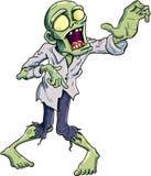 Ejemplo del vector de un zombi de la historieta Imagen de archivo