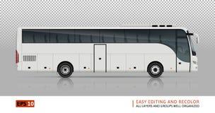 Ejemplo del vector del autobús Imagenes de archivo