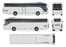 Ejemplo del vector del autobús Imágenes de archivo libres de regalías