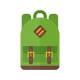 Ejemplo del vector del bolso de escuela stock de ilustración