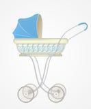 Ejemplo del vector del carro de bebé ilustración del vector