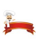 Ejemplo del vector del cocinero para la animación, juegos, diversas actitudes, cocina Foto de archivo libre de regalías