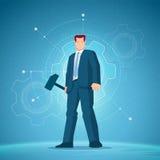 Ejemplo del vector del concepto del negocio ilustración del vector