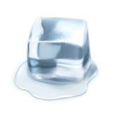 Ejemplo del vector del cubo de hielo Fotos de archivo libres de regalías
