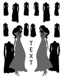 Diseño de la moda Fotografía de archivo
