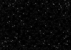 Ejemplo del vector del fondo del espacio y de la estrella stock de ilustración