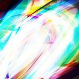 Ejemplo del vector del fondo torcido extracto brillante Foto de archivo