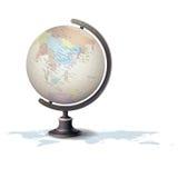 Ejemplo del vector del globo Foto de archivo libre de regalías