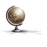Ejemplo del vector del globo Imagenes de archivo