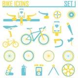 Ejemplo del vector del icono de la bici Libre Illustration