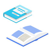 Ejemplo del vector del libro 3d Libro de escuela Educación, la O.N.U Fotografía de archivo libre de regalías