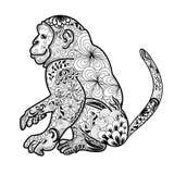 Ejemplo del vector del mono libre illustration