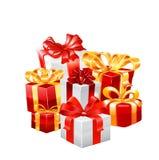 Ejemplo del vector del regalo Imagen de archivo libre de regalías