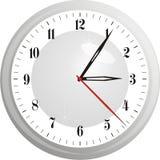 Ejemplo del vector del reloj Imágenes de archivo libres de regalías