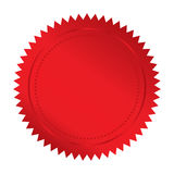 Sello rojo Imagen de archivo libre de regalías