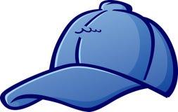 Ejemplo del vector del sombrero de la historieta de la gorra de béisbol Imagen de archivo libre de regalías