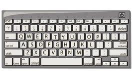 Ejemplo del vector del teclado Fotografía de archivo libre de regalías