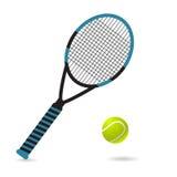 Ejemplo del vector del tenis EPS 10 Imagen de archivo libre de regalías