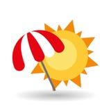 Ejemplo del vector del viaje, icono del vector Fotografía de archivo libre de regalías