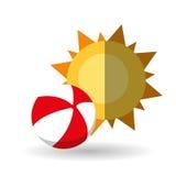 Ejemplo del vector del viaje, icono del vector Imagen de archivo libre de regalías