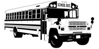 Ejemplo del vector EPS del autob?s escolar por los crafteroks libre illustration