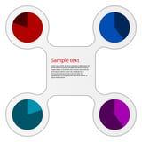 Ejemplo del vector infographic Stock de ilustración