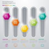 Ejemplo del vector, infographics Fotografía de archivo libre de regalías