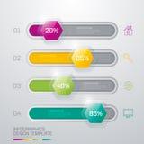 Ejemplo del vector, infographics Fotografía de archivo