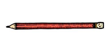 Ejemplo del vector del lápiz detallado afilado stock de ilustración