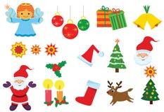 Ejemplo del vector para la Navidad Fotos de archivo