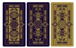 Ejemplo del vector para las cartas de tarot ilustración del vector