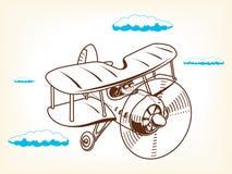 Ejemplo del vector plano de la historieta Fotografía de archivo libre de regalías