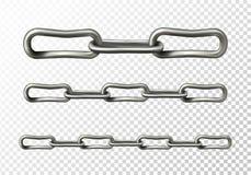 Ejemplo del vector del primer de las alambradas del metal ilustración del vector