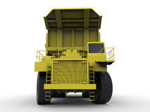 Ejemplo del vehículo de la explotación minera Imagen de archivo