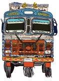 Ejemplo delantero del vector del camión indio para los diseños libre illustration
