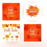 Ejemplo determinado del vector del otoño de la caída de la venta de la impresión ilustración del vector