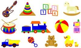 Ejemplo divertido del juguete stock de ilustración