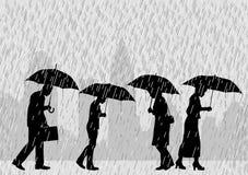 Gente de la lluvia