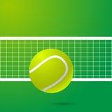Ejemplo eps10 del fondo del diseño del tenis Foto de archivo libre de regalías