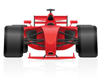 Ejemplo EPS 10 del vector del coche de competición Fotos de archivo