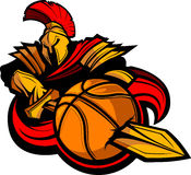 Ejemplo espartano del baloncesto libre illustration