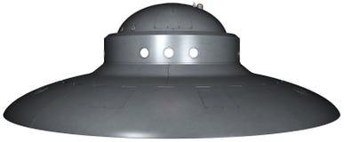 Ejemplo extranjero de la nave espacial del UFO aislado Fotos de archivo