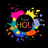 Ejemplo feliz de Holi Fotos de archivo