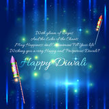 Ejemplo feliz del diseño del fondo del diwali stock de ilustración