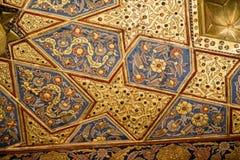 Ejemplo floral del modelo del arte del tiempo del otomano Imagen de archivo