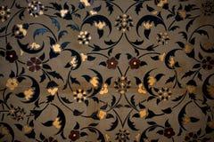 Ejemplo floral del modelo del arte del tiempo del otomano Imagenes de archivo