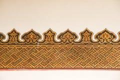 Ejemplo floral del modelo del arte del tiempo del otomano Imagen de archivo libre de regalías