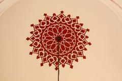 Ejemplo floral del modelo del arte del tiempo del otomano Foto de archivo libre de regalías