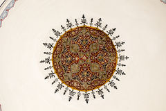 Ejemplo floral del modelo del arte del tiempo del otomano Fotos de archivo libres de regalías