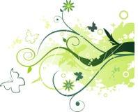 Ejemplo floral del vector fotos de archivo libres de regalías